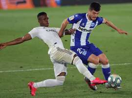 Real Madrid - Alavés: onzes iniciais confirmados. EFE