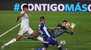 Examen sin Zidane en el centenario del Alavés. EFE