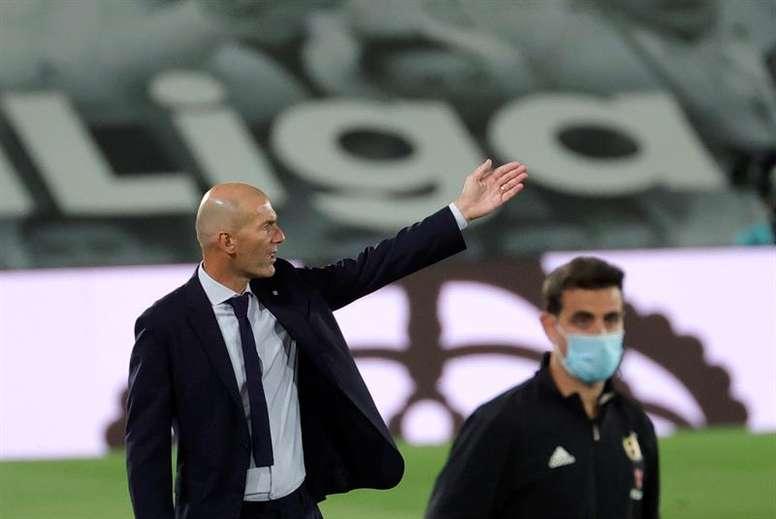 Zidane suena para la Juventus. EFE/JuanJo Martín