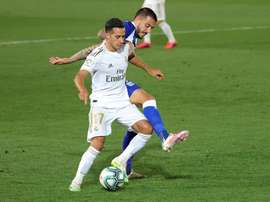 Lucas Vázquez could go to Qatar. EFE