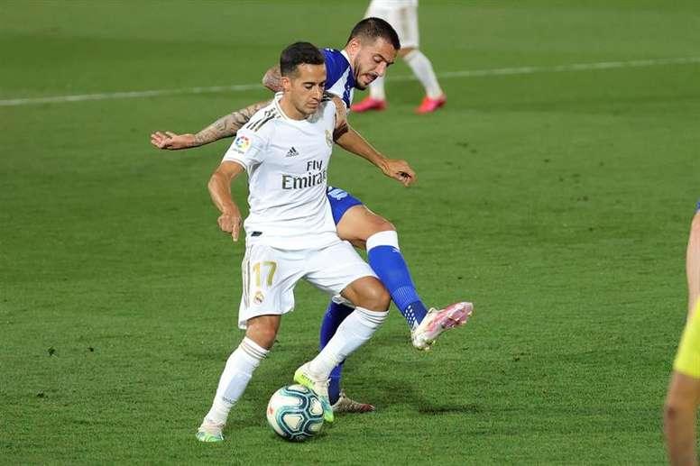 El futbolista blanco cuajó un gran partido en el 'Clásico'. EFE