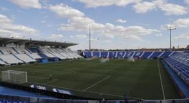 El Leganés une fuerzas por el fútbol sala. EFE/Ballesteros/Archivo