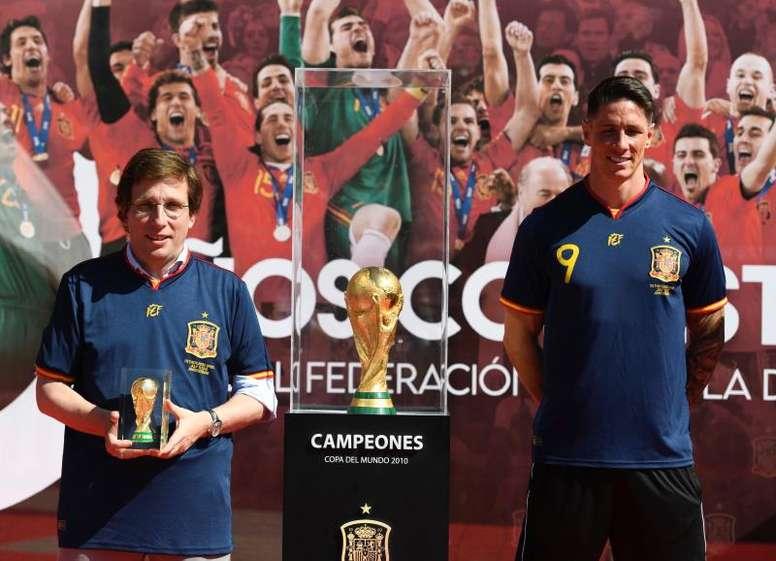 Almeida se queda con el Mundial por encima de todas las cosas. EFE