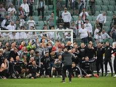 Otro título para el Legia Varsovia. EFE