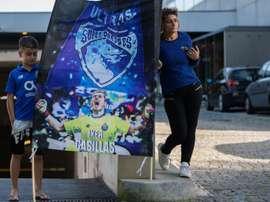 Le message de la ligue portugaise à l'égard d'Iker Casillas. EFE