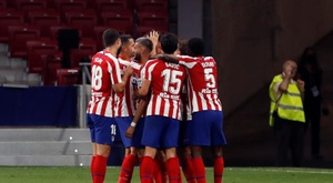 O bônus do Atlético por se classificar para a Champions. EFE