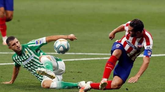 Guido Rodríguez lamentó la derrota. EFE