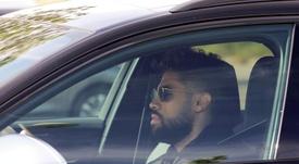 Mariano, baja de nuevo en el Real Madrid. EFE