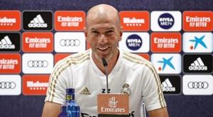 Zidane não confirmou a presença de Hazard. EFE
