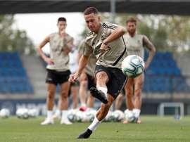 Zidane ainda espera por um Hazard em forma. EFE
