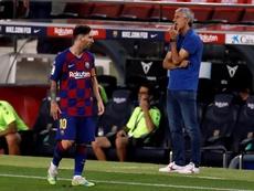 Messi, Ter Stegen y Piqué, los que más han jugado. EFE