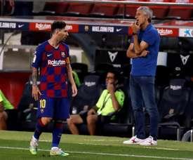 Dosar Messi é a chave para a Champions. EFE
