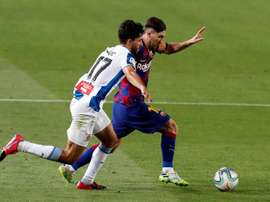 Messi, decisivo aunque no marque en el Barça. EFE