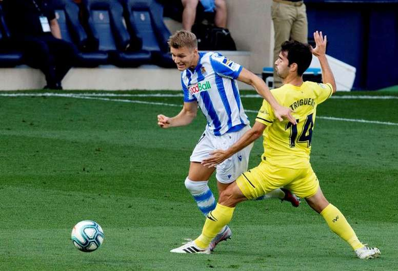 Odegaard will return to Madrid. EFE