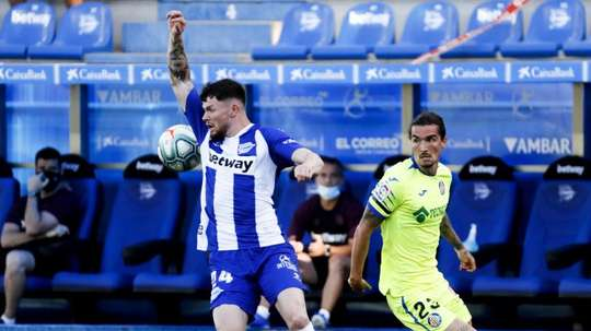 Alavés will get back to work next week. EFE