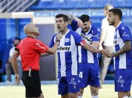 Manu García sigue creyendo. EFE