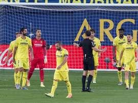 Pau Torres resaltó la importancia del gol por el golaveraje. EFE