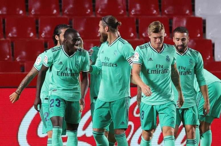 El Real Madrid volverá a someterse a otros dos test de coronavirus. EFE