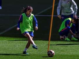 Kenti Robles jugará la próxima temporada en el Real Madrid Femenino. EFE/Archivo