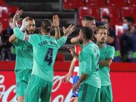 Benzema, a la caza de Messi. EFE