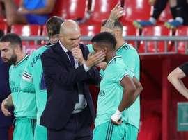 El Madrid acaricia ya el título de campeón. EFE