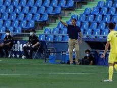 Calleja está ya entre los tres técnicos con más partidos de la historia del Villarreal. EFE