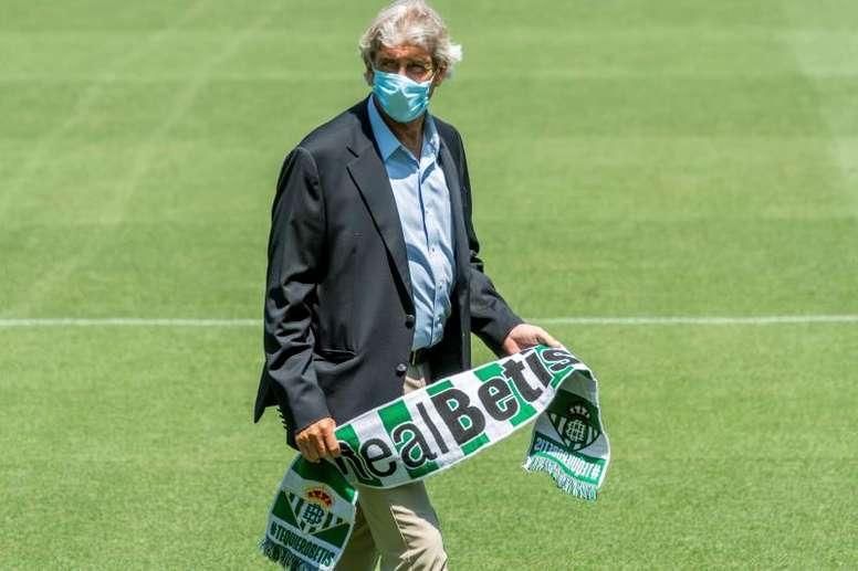 El Betis de Pellegrini vuelve el lunes. EFE