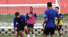 Costa será titular ante el Getafe. EFE