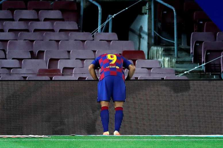 Luis Suarez will not take part in the Nastic match. EFE