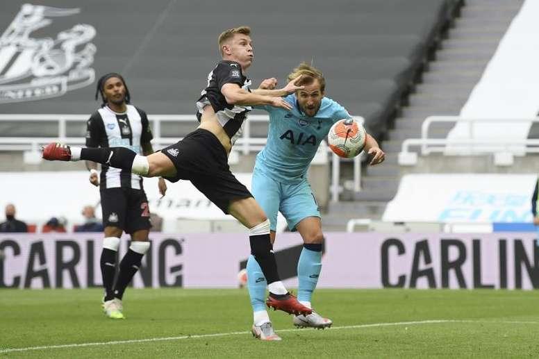 Harry Kane got two in Tottenham's win at Newcastle. EFE