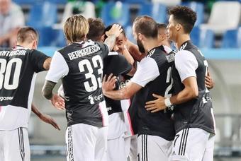 Les compos probables du match de Serie A entre la Juve et la Lazio. EFE