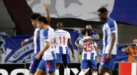 Porto é o campeão da Taça de Portugal com um a menos. EFE/EPA/JOSE COELHO