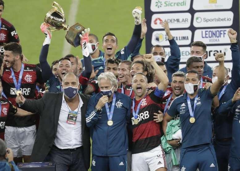 Flamengo, bicampeón del Carioca. EFE