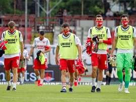 Seis jugadores del Dinamo de Bucarest han dado positivo en coronavirus. EFE/EPA/Archivo