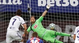 Sergi Guardiola quiere terminar la Liga con una victoria. EFE