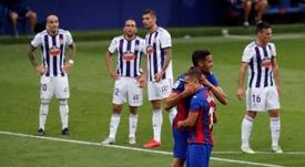 El Eibar derrotó al Valladolid. EFE
