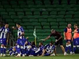 El Alavés ya prepara su pretemporada. EFE
