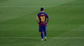 Le contrat utopique que l'Inter pourrait proposer à Messi. EFE