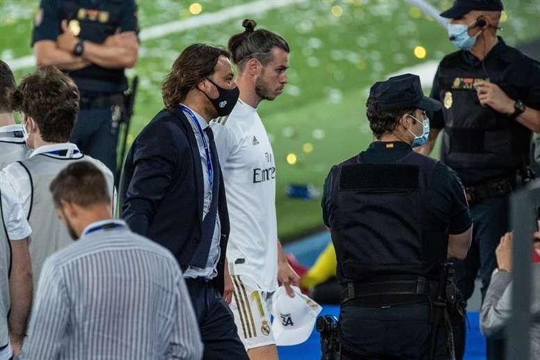 Bale tiene decidido seguir aunque no juegue. EFE
