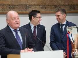 Prosperidad en la Federación Catalana de Fútbol. EFE