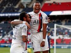 El PSG, con muchas ganas de fútbol. EFE