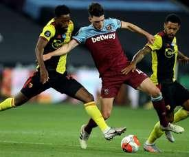 Triunfo clave del West Ham. EFE