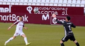 El Albacete maximizó sus opciones. EFE