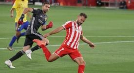 Stuani, máximo goleador del Girona. EFE