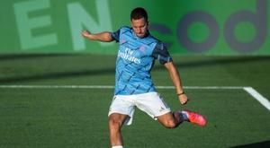 Hazard prefers to assist goals. EFE