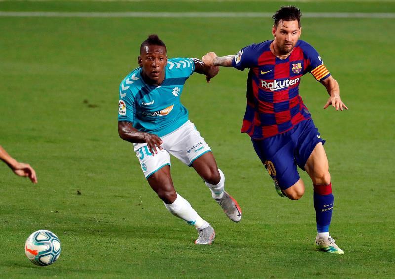 Osasuna ganó en el Camp Nou en 2020