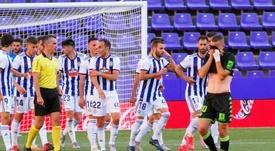 El Valladolid necesita cerrar muchas salidas. EFE