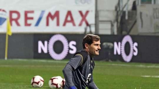 Casillas organised a party. EFE