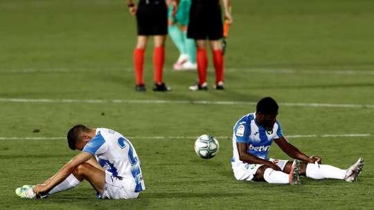 Leganés will get 15 million for going down. EFE