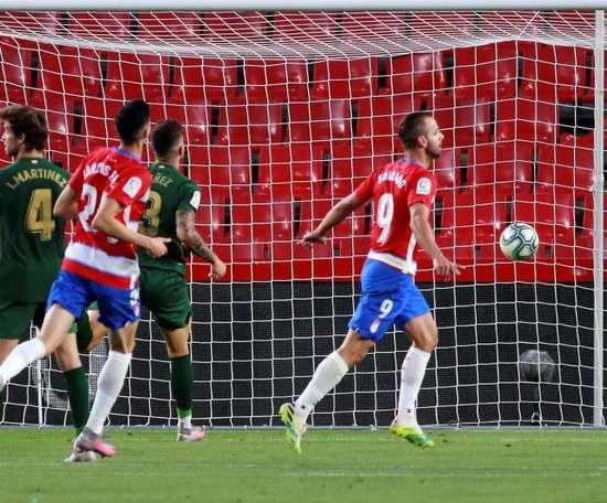El Granada rubrica una temporada excelsa con Europa. EFE